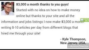 category writing jobs online review bonus net video  make 3000 a month by writing