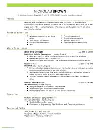 Computer Programs List For Resume Sample Developer Resume Fresh