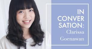 In Conversation Clarissa Goenawan Ubud Writers And Readers Magnificent Ling Samantha Hindi Poem