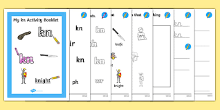 Cut the ch sh th wh ph digraph tiles and identify the pictures. Kn Grapheme Phase 5 Alternative Spellings Activity Booklet