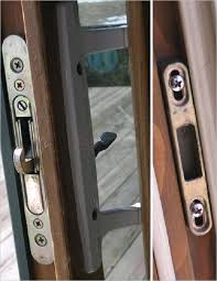 fancy sliding glass door lock repair for worthy remodel sweet home 99 with sliding glass door