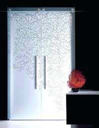 sliding glass door decals designs safety a for do