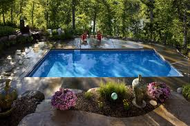 Backyard Pool Landscaping Backyard Pool Pictures Home Design Ideas