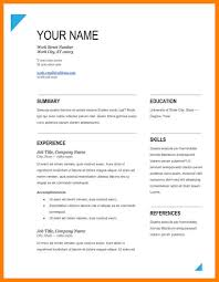 Resume Format Download Free Pdf Free Pdf Resume Template Savebtsaco 4