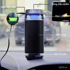 ️ Sale máy lọc không khí và khử mùi trên xe hơi,máy hút mùi, MICHELIN  ML-19, bảo hành 1 đổi 1 [sale99] chính hãng 1,820,000đ