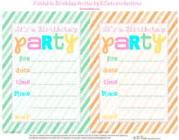 Party Invite Templates Free Printable Party Invites Templates Vastuuonminun 3
