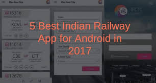 Irctc Fare Chart 2017 5 Best Indian Railway Apps For Android In 2020 Free Download