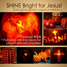 Christian Pumpkin Designs 50 Pretty Pumpkin Carving Ideas Christian Cross Faith