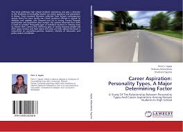 search results for shadrack oiye bookcover of career aspiration personality types a major determining factor