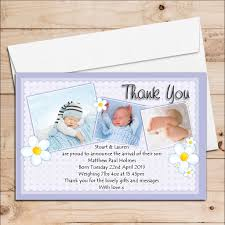 Baby Announcement Cards 10 Personalised New Baby Boy Birth Announcement Thank You Photo Cards N71