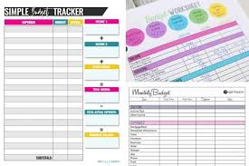 Project On Family Budget For A Month 10 Budget Templates That Will Help You Stop Stressing About