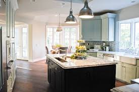 Decorative Kitchen Islands Cool White Kitchen With White Islands And High Gloss Countertop