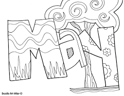 Months of the Year Coloring Pages - Classroom Doodles