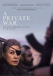 A Private War (2018) | 15 | 1h 50mins | at The Lymington Centre event  tickets from TicketSource