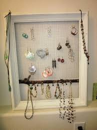 Diy Jewelry Organizer Jewelry Organizer Diy To Organize Your Jewelries