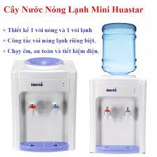Cây nước nóng lạnh Mini Huastar 1 vòi nóng và 1 vòi lạnh với công tắc vòi nóng  lạnh riêng biệt thích hợp cho gia đình và văn phòng
