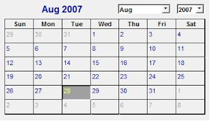 Calendar To Fill In Use A Calendar Control Or Date Picker To Fill In Dates