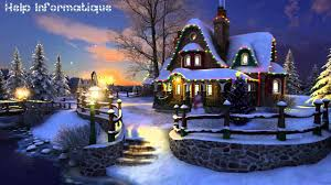 Winter Christmas 3d Wallpaper