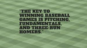 Baseball Quotes Funny Famous And Inspirational
