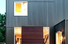 corrugated metal exterior siding horizontal corrugated metal siding vertical metal siding seamless steel exterior ideas medium