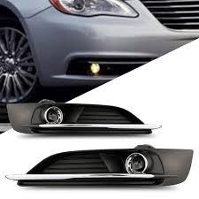 2012 Dodge Challenger Fog Light Bulb Replacement Amazon Com Scitoo Fog Light Assembly Kit Fit Chrysler 200