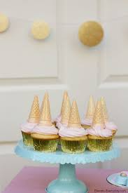 diy birthday party ideas for adults. unicorn birthday party ideas: horn cupcakes at by jen rose diy ideas for adults p