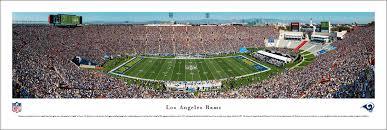 La Rams Seating Chart Los Angeles Memorial Coliseum Los Angeles Rams Football