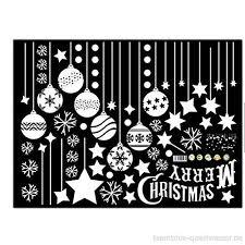 Emwel 2 Stück Weihnachtsdeko Merry Christmas