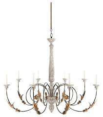 rustic country chandelier impressive french large 8 light curled iron arm antiqued chand