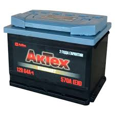 <b>AKTEX</b> Аккумулятор <b>АКТЕХ</b> STANDART 64 А/ч EN 570 ПП ...