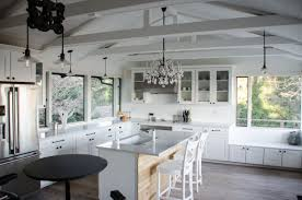 Kitchen Ceiling Ceiling Kitchen Lights Bright Country Kitchen With Large Island