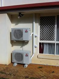 split air conditioning system. existing home, res split outdoors7_2 air conditioning system s