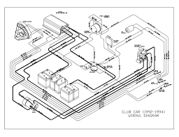 Club car ds wiring schematic gas diagram floralfrocks inside with