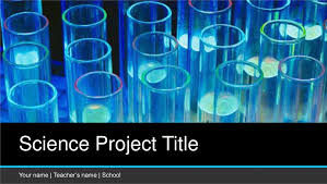 Science Fair Powerpoint Templates Free Science Project Concept Powerpoint Template Designhooks