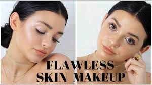 how to get flawless skin makeup tutorial
