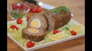 طريقة عمل روستو اللحم بالبيض