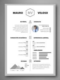 Simple Cv/resume Template Free Download … | Things T…