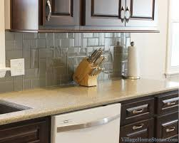 a moline il kitchen remodel including hanstone quartz and glass subway tile villagehomes