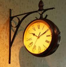 vintage wall clock. vintage wall clock h