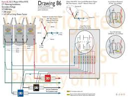 harris institute of technical training reference manuals for reference manuals for electricity metering > three phase sc ir metering diagrams book 2 154 > forms 6s 36s three phase 4 wire wye ct metering
