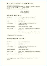 Cv Template Jobstreet Awesome Resume Template Jobstreet Malaysia At