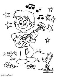 Gratis Kleurplaten Muziek Brekelmansadviesgroep