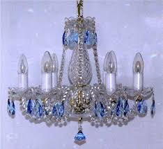 blue crystal chandelier blue almonds ry svitidlaeu intended for contemporary house colored crystal chandelier prepare