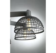 cage light chandelier industrial vintage 4