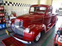 Chevy Truck 3100 short bed V8 Dk Candy Apple Red