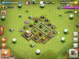 Clash Of Clans Level Up Chart The Waiting Game Hands On With Clash Of Clans Engadget