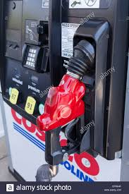 costco usa stock photos costco usa stock images alamy fuel pump and dispenser at costco gas station usa stock image