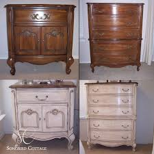 chalk paint bedroom furniturechalk paint furniture  French Provencal Furniture Before and