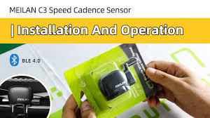 Meilan <b>C3</b> Wireless <b>speed</b>/<b>cadence sensor</b> | Installment and ...