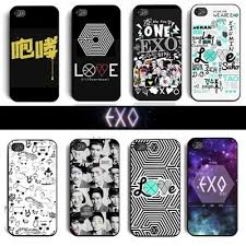 EXO kpop fashion mobile phone case cover for iphone 5 5s on